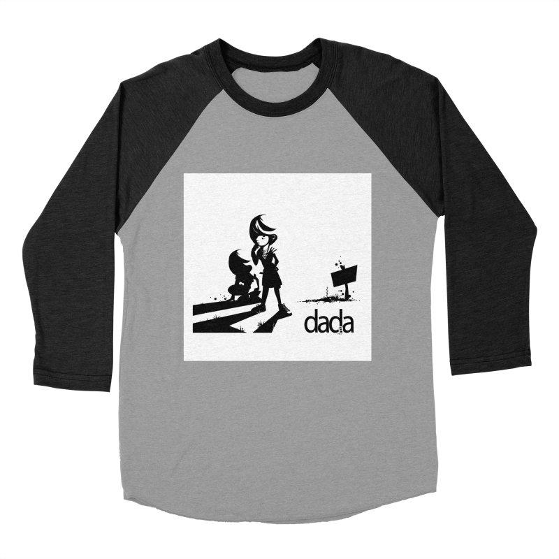 dada Women's Baseball Triblend Longsleeve T-Shirt by iStoleHerPanties's Artist Shop