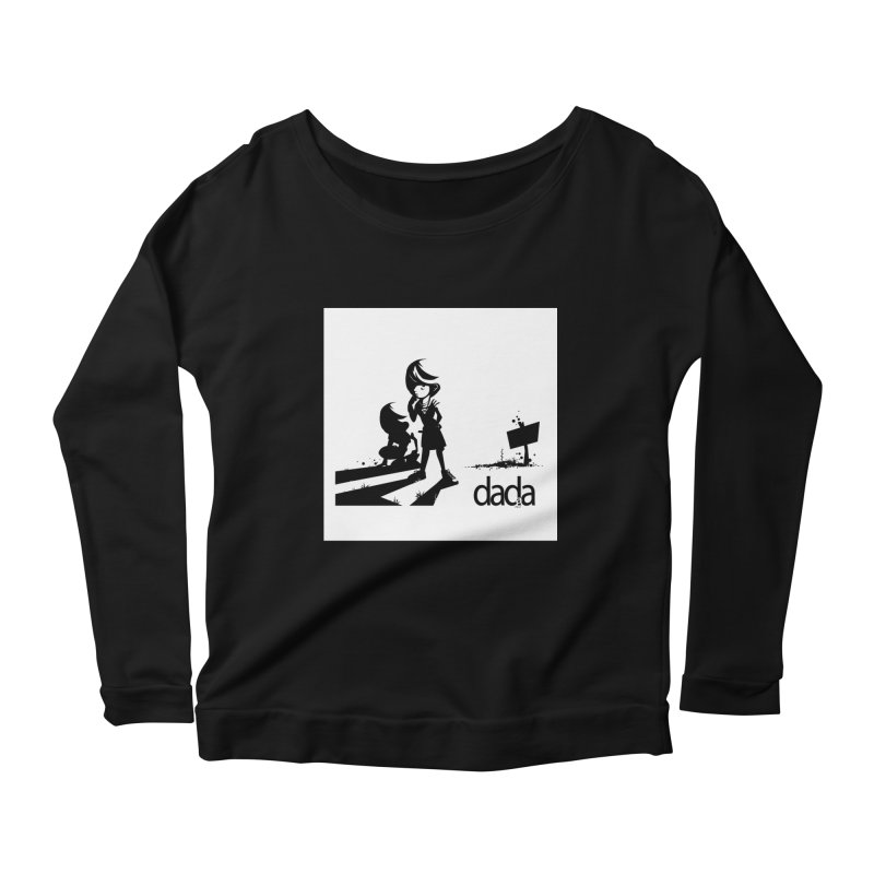 dada Women's Scoop Neck Longsleeve T-Shirt by iStoleHerPanties's Artist Shop