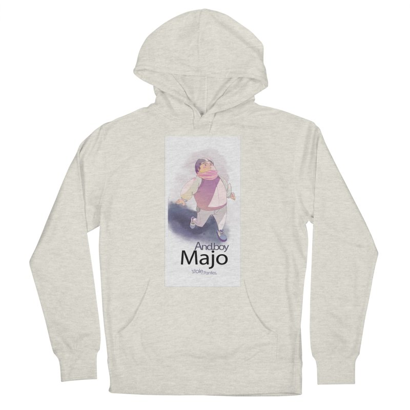 dealing With Majo Women's French Terry Pullover Hoody by iStoleHerPanties's Artist Shop