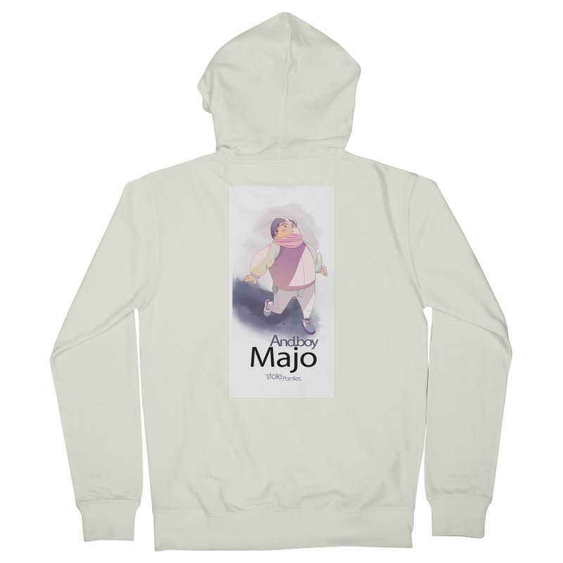 dealing With Majo Men's French Terry Zip-Up Hoody by iStoleHerPanties's Artist Shop