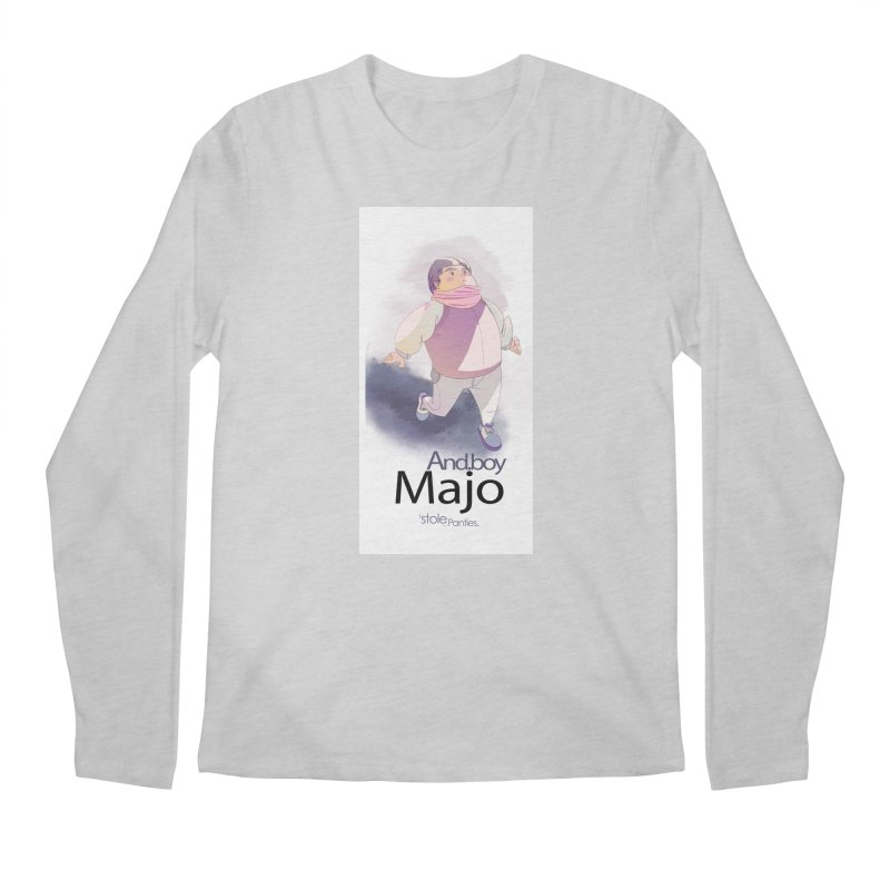 dealing With Majo Men's Regular Longsleeve T-Shirt by iStoleHerPanties's Artist Shop