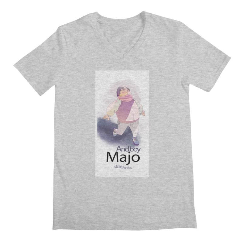 dealing With Majo Men's Regular V-Neck by iStoleHerPanties's Artist Shop