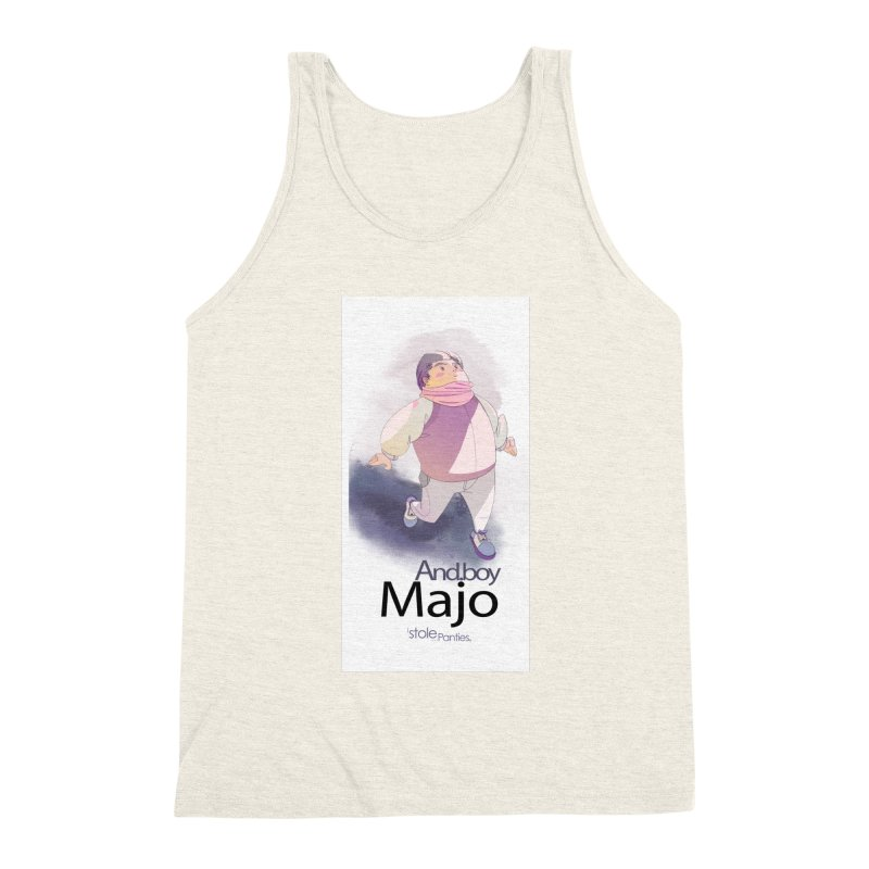 dealing With Majo Men's Triblend Tank by iStoleHerPanties's Artist Shop