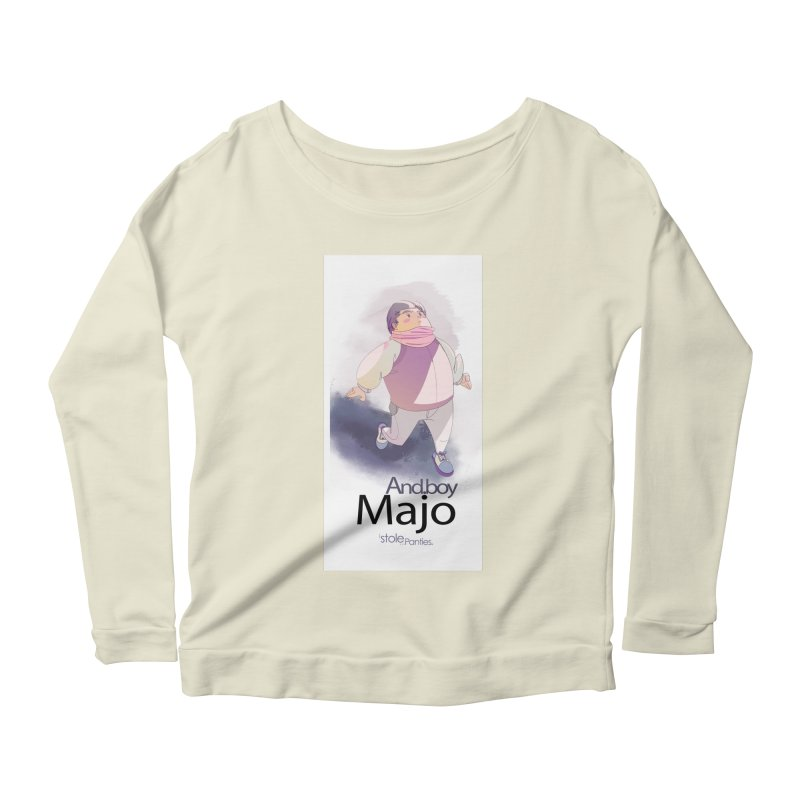 dealing With Majo Women's Scoop Neck Longsleeve T-Shirt by iStoleHerPanties's Artist Shop