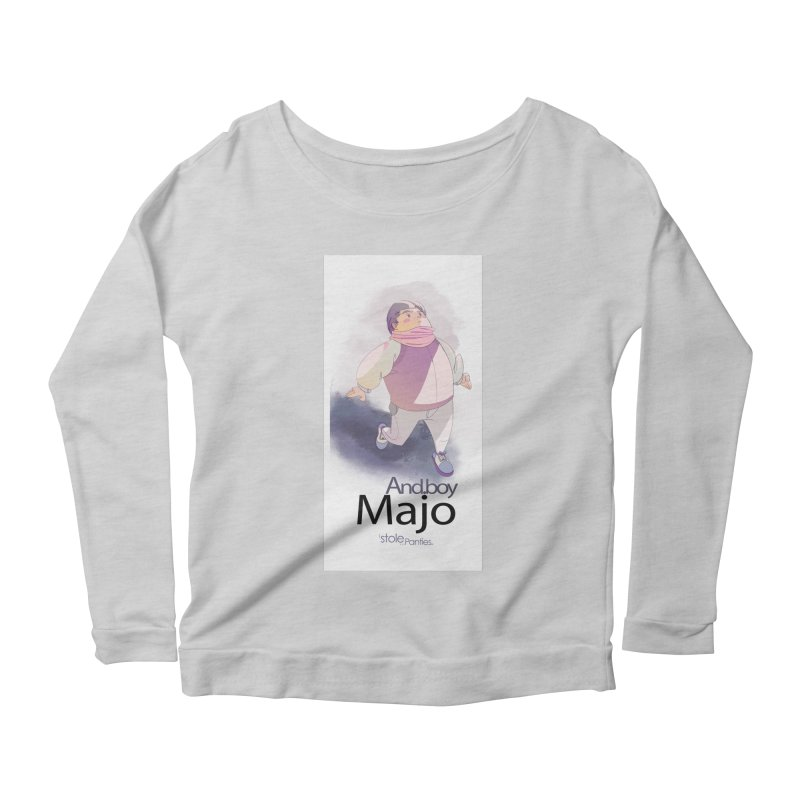 dealing With Majo Women's Scoop Neck Longsleeve T-Shirt by iStoleHerPanties's Artist Shop
