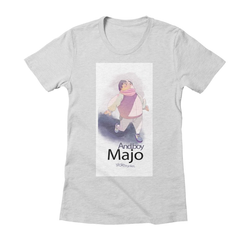 dealing With Majo Women's Fitted T-Shirt by iStoleHerPanties's Artist Shop
