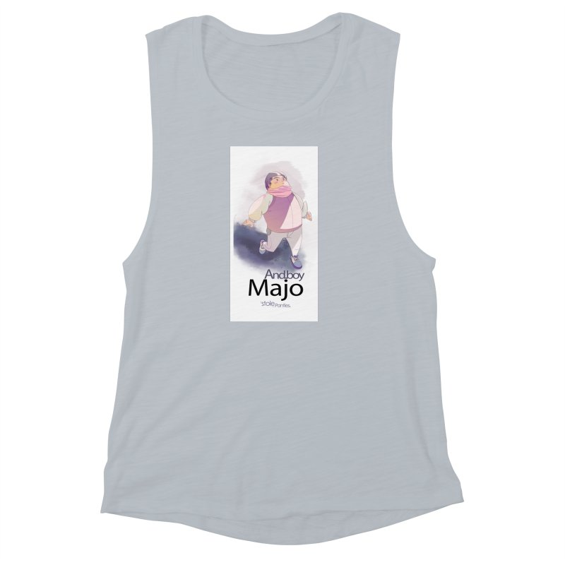 dealing With Majo Women's Muscle Tank by iStoleHerPanties's Artist Shop