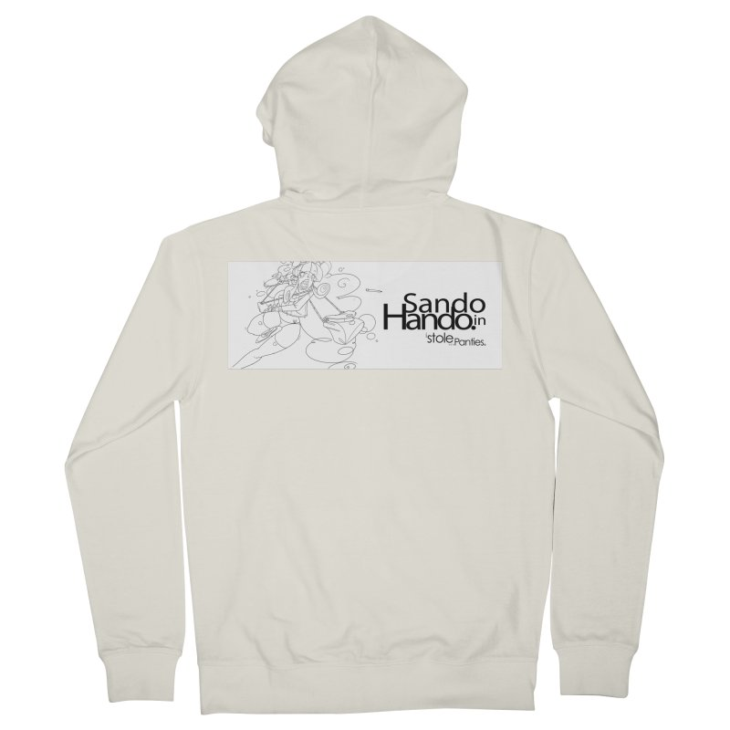 Dripp'n Sauce Men's French Terry Zip-Up Hoody by iStoleHerPanties's Artist Shop