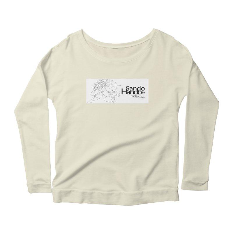 Dripp'n Sauce Women's Scoop Neck Longsleeve T-Shirt by iStoleHerPanties's Artist Shop