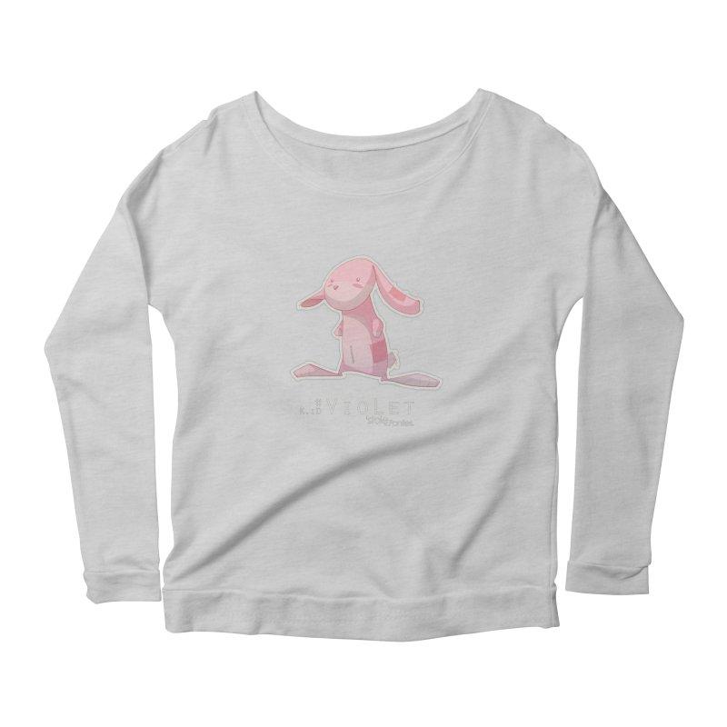 noBa Women's Scoop Neck Longsleeve T-Shirt by iStoleHerPanties's Artist Shop