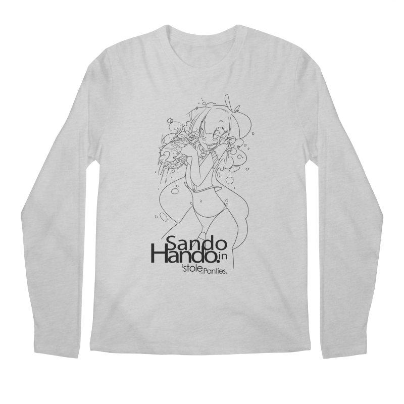 Sando in Hando Men's Regular Longsleeve T-Shirt by iStoleHerPanties's Artist Shop