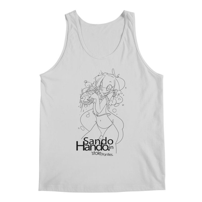 Sando in Hando Men's Regular Tank by iStoleHerPanties's Artist Shop