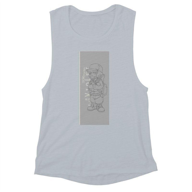 Up aBow D'm Days Women's Muscle Tank by iStoleHerPanties's Artist Shop