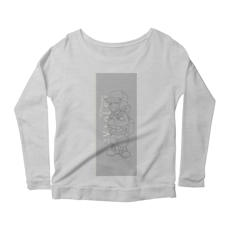 Up aBow D'm Days Women's Scoop Neck Longsleeve T-Shirt by iStoleHerPanties's Artist Shop