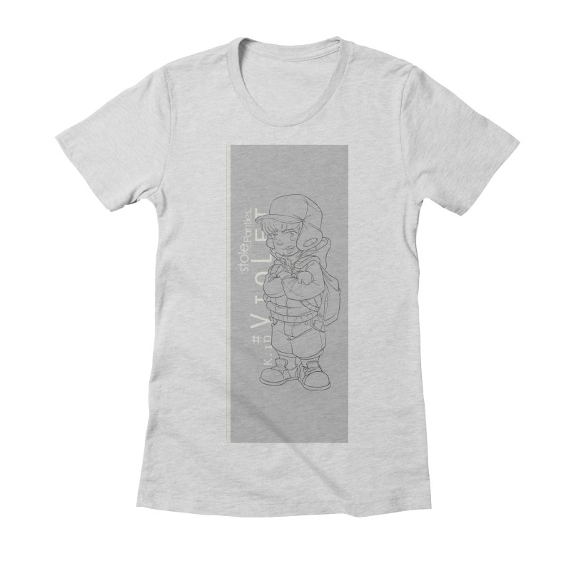 Up aBow D'm Days Women's Fitted T-Shirt by iStoleHerPanties's Artist Shop