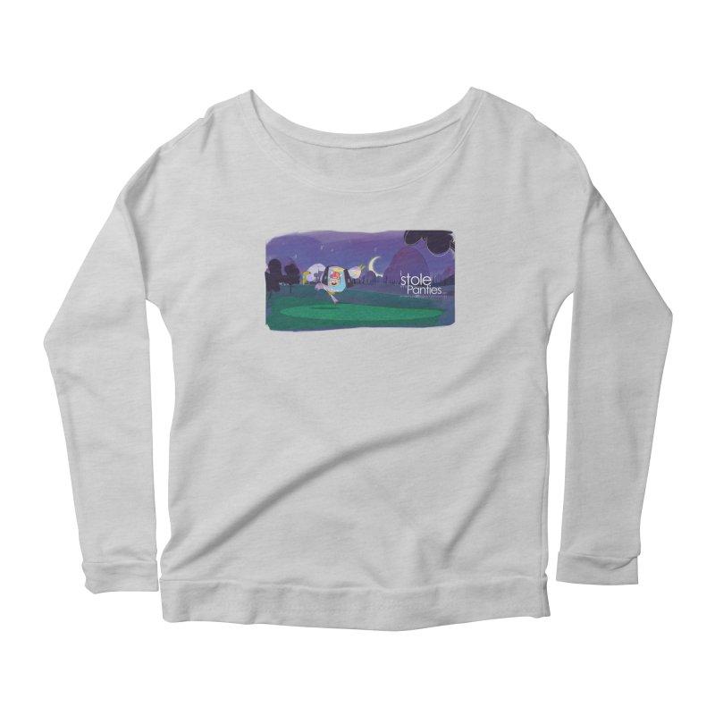 The PAnties GIant Women's Scoop Neck Longsleeve T-Shirt by iStoleHerPanties's Artist Shop