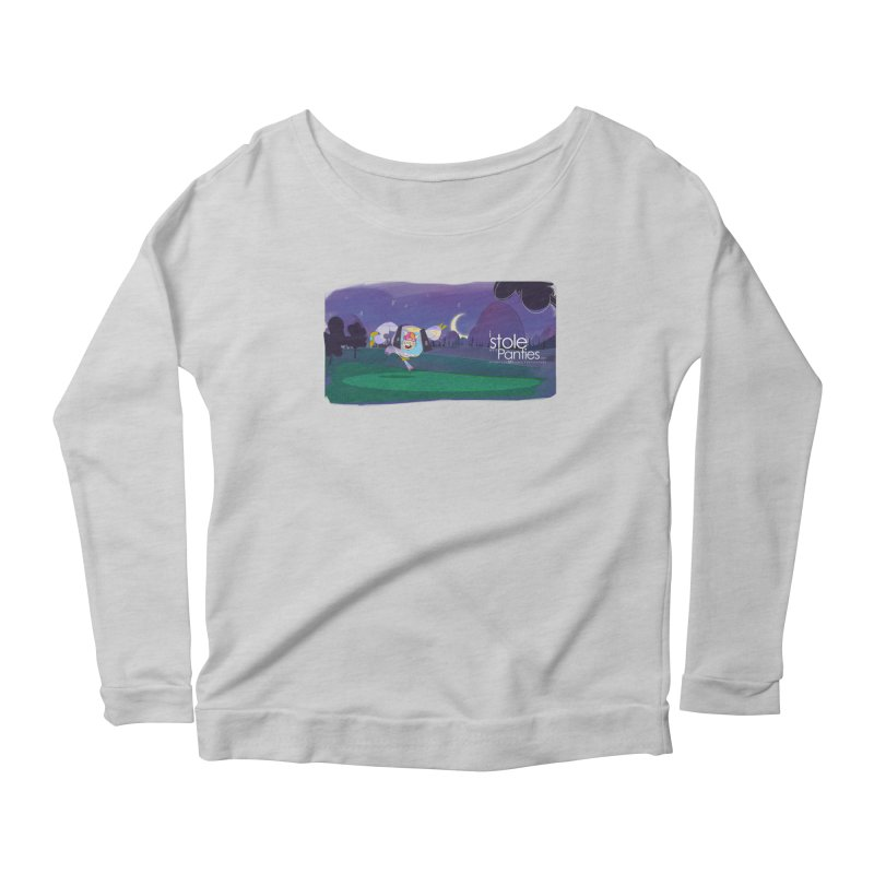 The PAnties GIant Women's Scoop Neck Longsleeve T-Shirt by iStoleHerPanties's Artist Shop