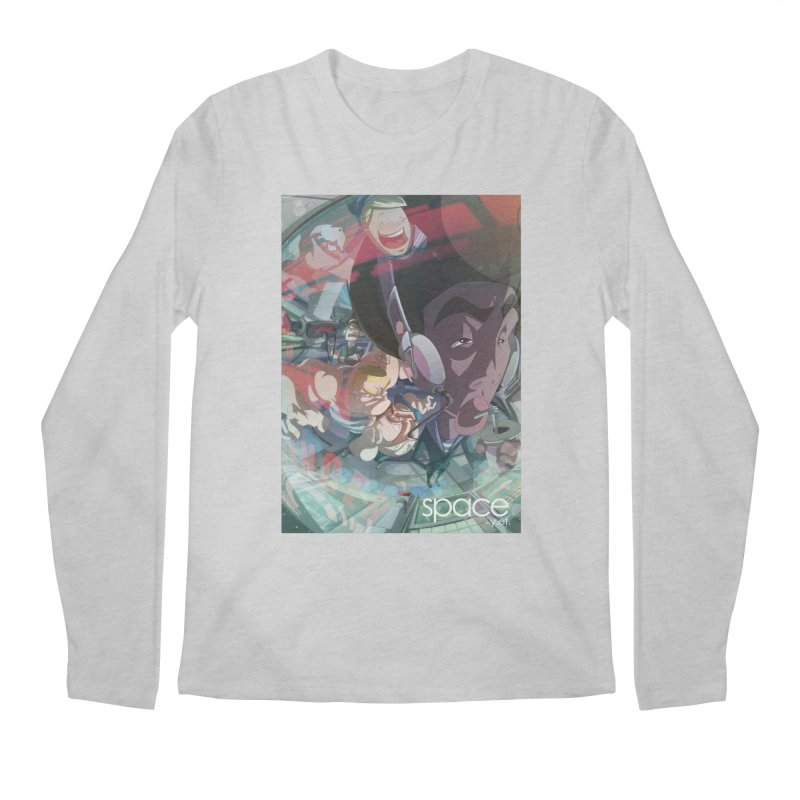 space +y.et. Men's Regular Longsleeve T-Shirt by iStoleHerPanties's Artist Shop