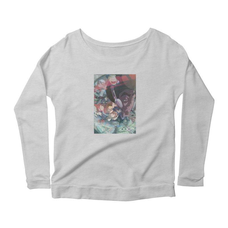 space +y.et. Women's Scoop Neck Longsleeve T-Shirt by iStoleHerPanties's Artist Shop