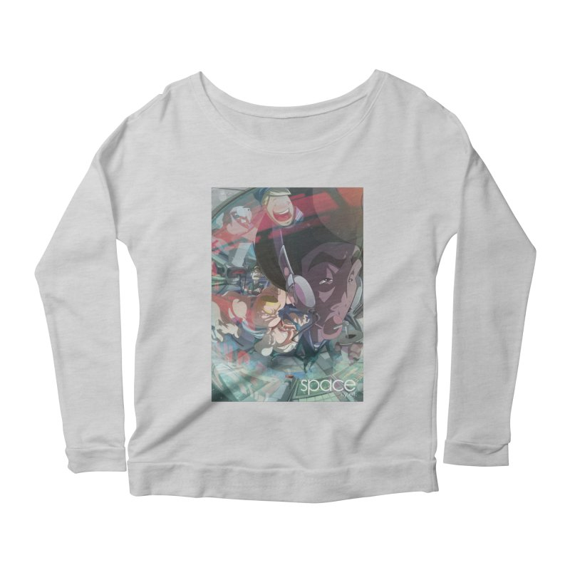 space +y.et. Women's Scoop Neck Longsleeve T-Shirt by iStoleHerPanties's Artist Shop