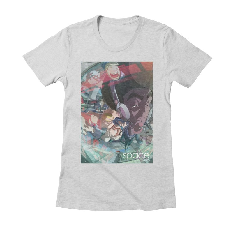 space +y.et. Women's Fitted T-Shirt by iStoleHerPanties's Artist Shop