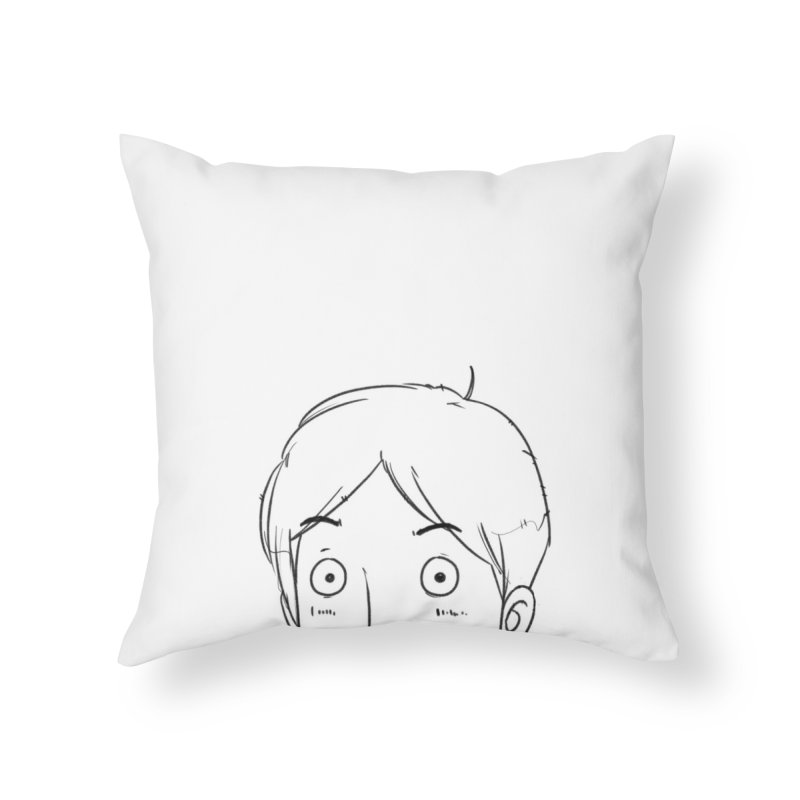 Achak Brooks Home Throw Pillow by iStoleHerPanties's Artist Shop