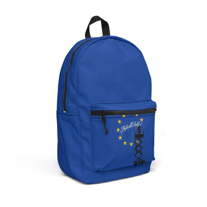 Brexit Accessories Backpack Bag by I am a graphic designer