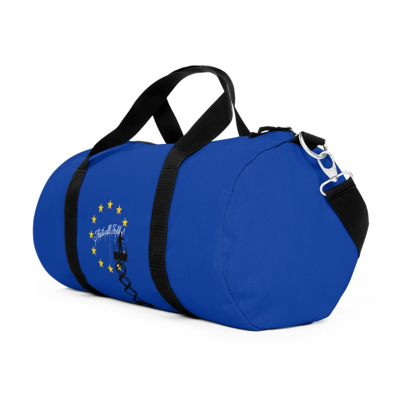 Brexit Accessories Duffel Bag Bag by I am a graphic designer