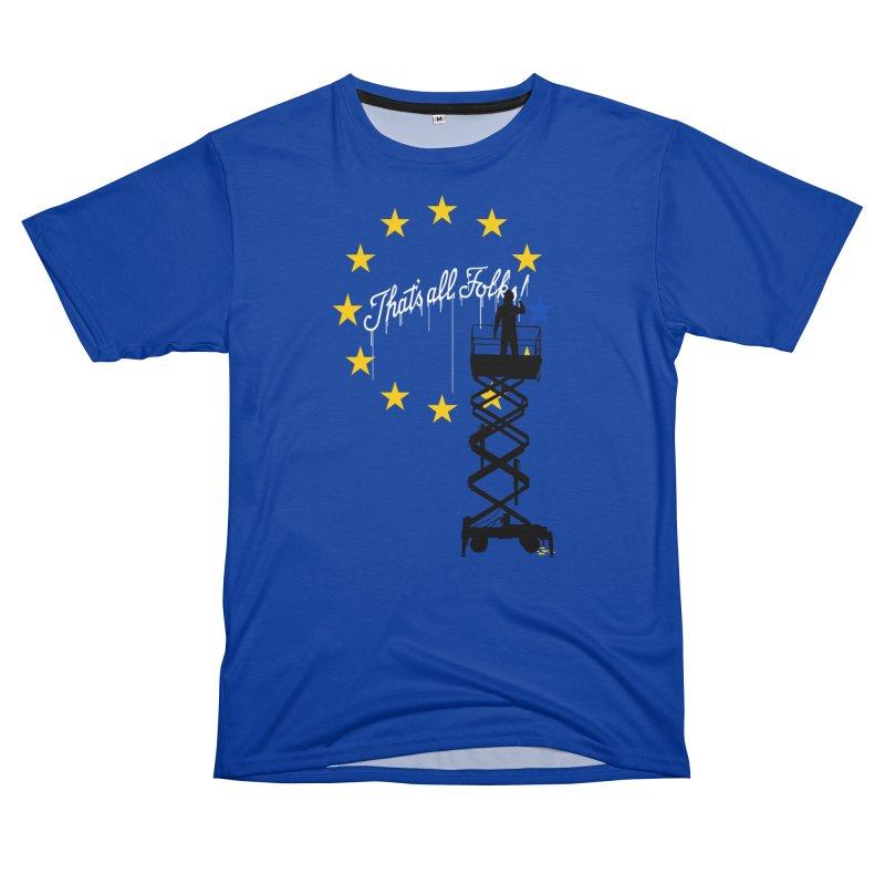 Brexit Men's T-Shirt Cut & Sew by I am a graphic designer
