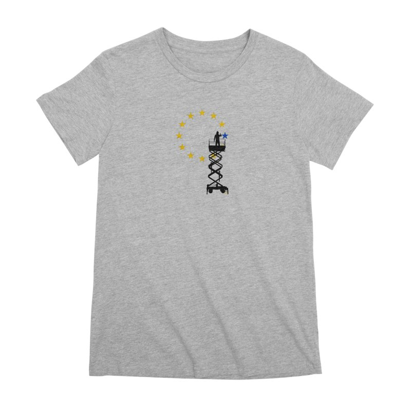 Brexit Women's Premium T-Shirt by I am a graphic designer