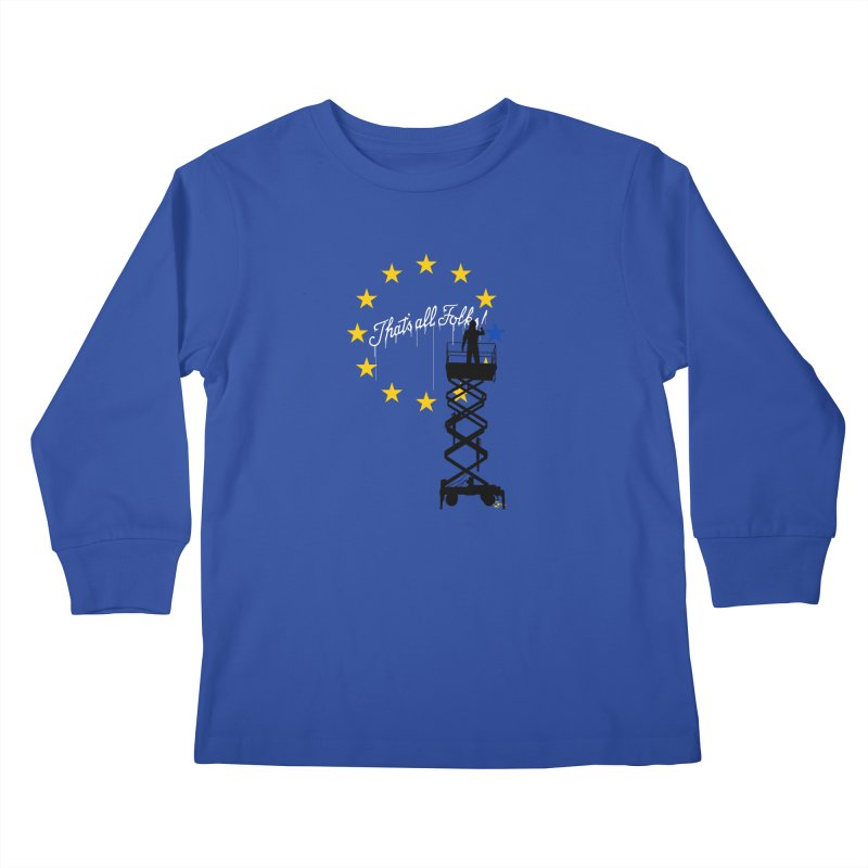 Brexit Kids Longsleeve T-Shirt by I am a graphic designer