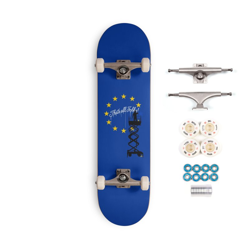 Brexit Accessories Complete - Premium Skateboard by I am a graphic designer