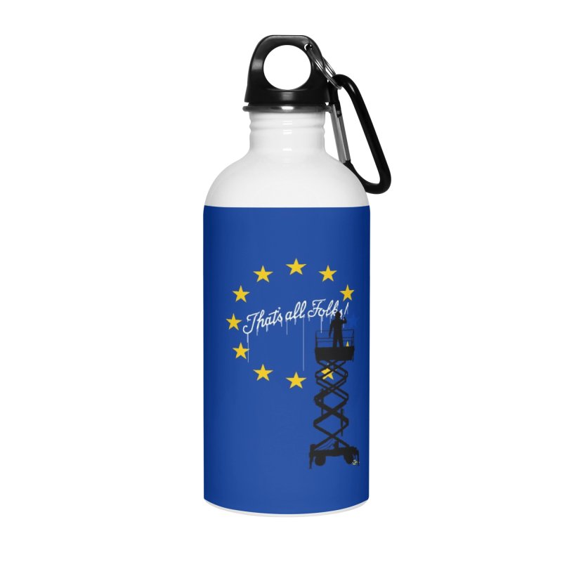 Brexit Accessories Water Bottle by I am a graphic designer