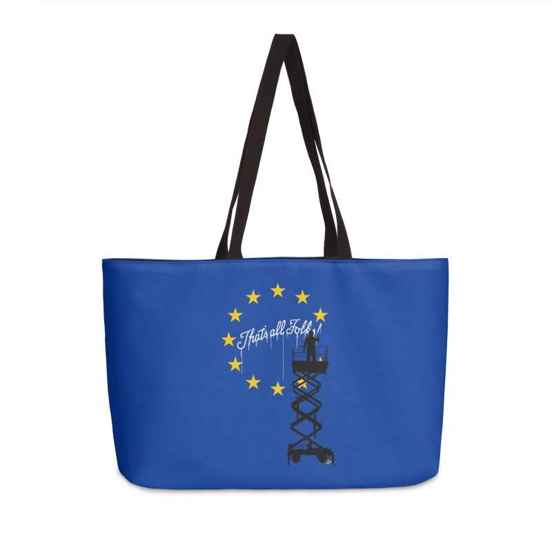 Brexit Accessories Weekender Bag Bag by I am a graphic designer