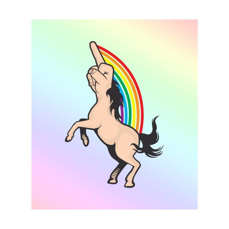 Fuckunicorn by I am a graphic designer