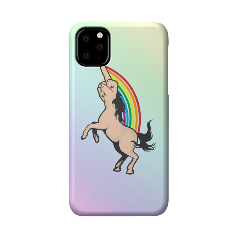 Fuckunicorn Accessories Phone Case by I am a graphic designer