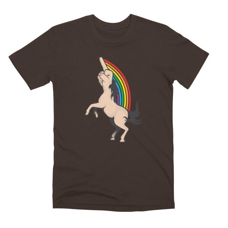 Fuckunicorn Men's Premium T-Shirt by I am a graphic designer