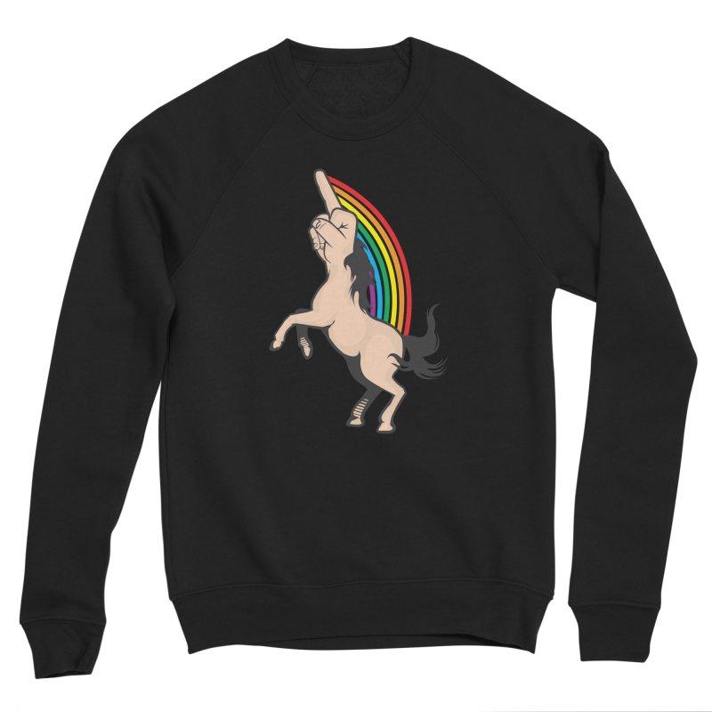 Fuckunicorn Men's Sponge Fleece Sweatshirt by I am a graphic designer