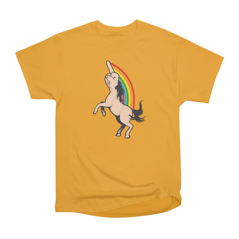 Fuckunicorn Men's Heavyweight T-Shirt by I am a graphic designer