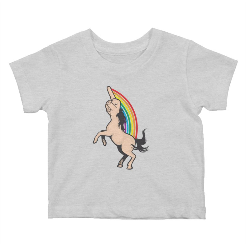 Fuckunicorn Kids Baby T-Shirt by I am a graphic designer
