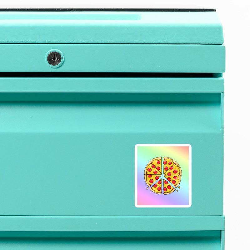 Give Pizza Chance Accessories Magnet by I am a graphic designer