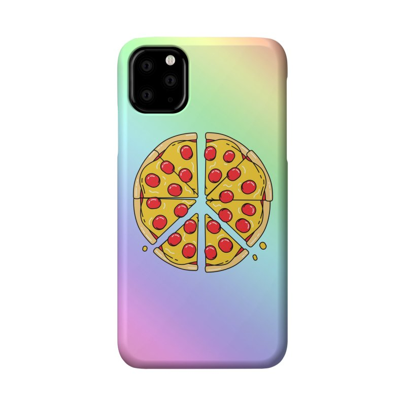 Give Pizza Chance Accessories Phone Case by I am a graphic designer