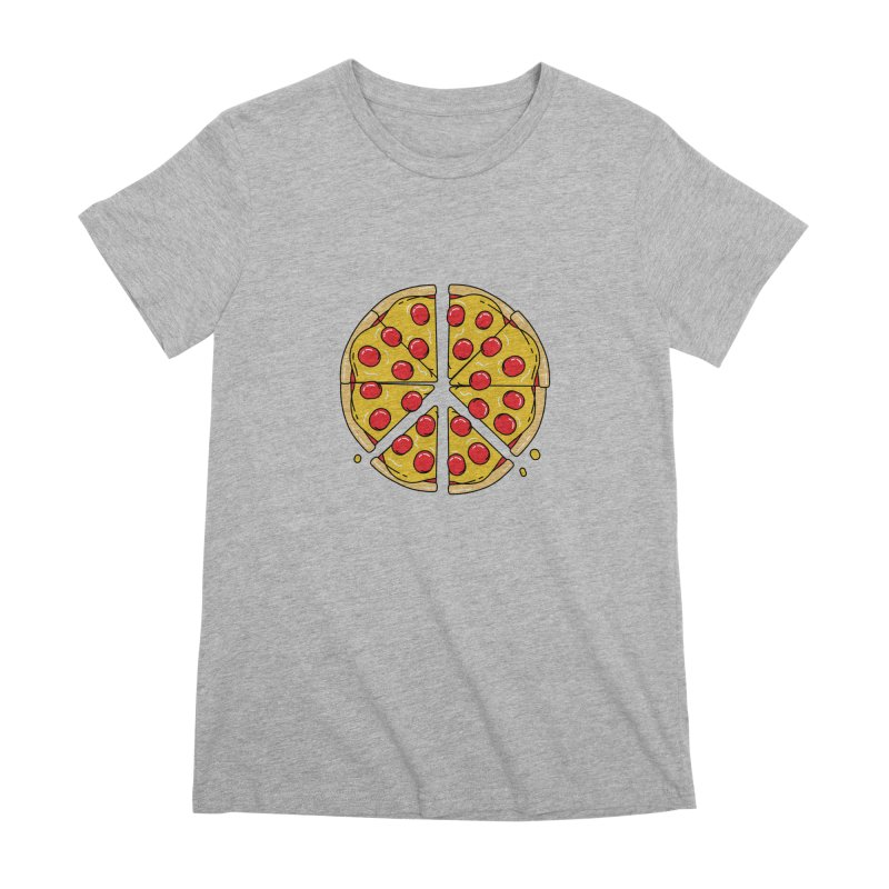 Give Pizza Chance Women's Premium T-Shirt by I am a graphic designer