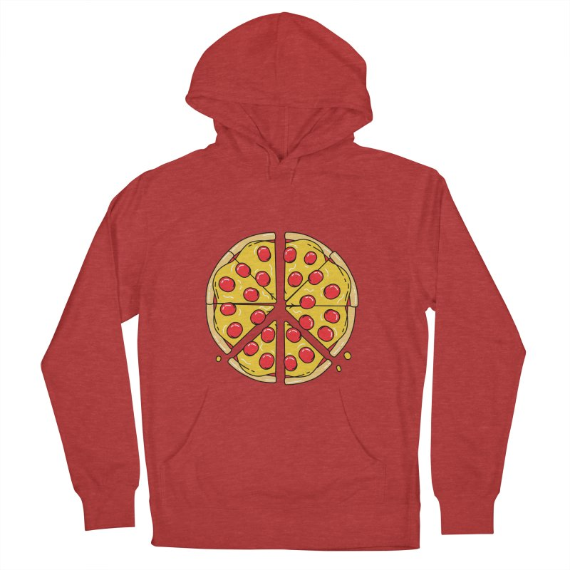 Give Pizza Chance Women's French Terry Pullover Hoody by I am a graphic designer