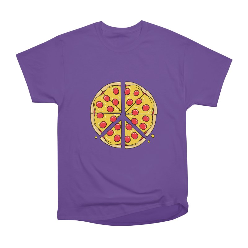 Give Pizza Chance Women's Heavyweight Unisex T-Shirt by I am a graphic designer