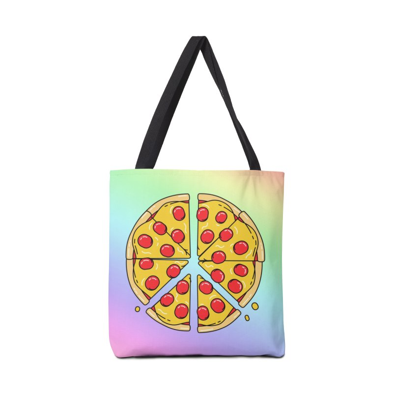 Give Pizza Chance Accessories Tote Bag Bag by I am a graphic designer