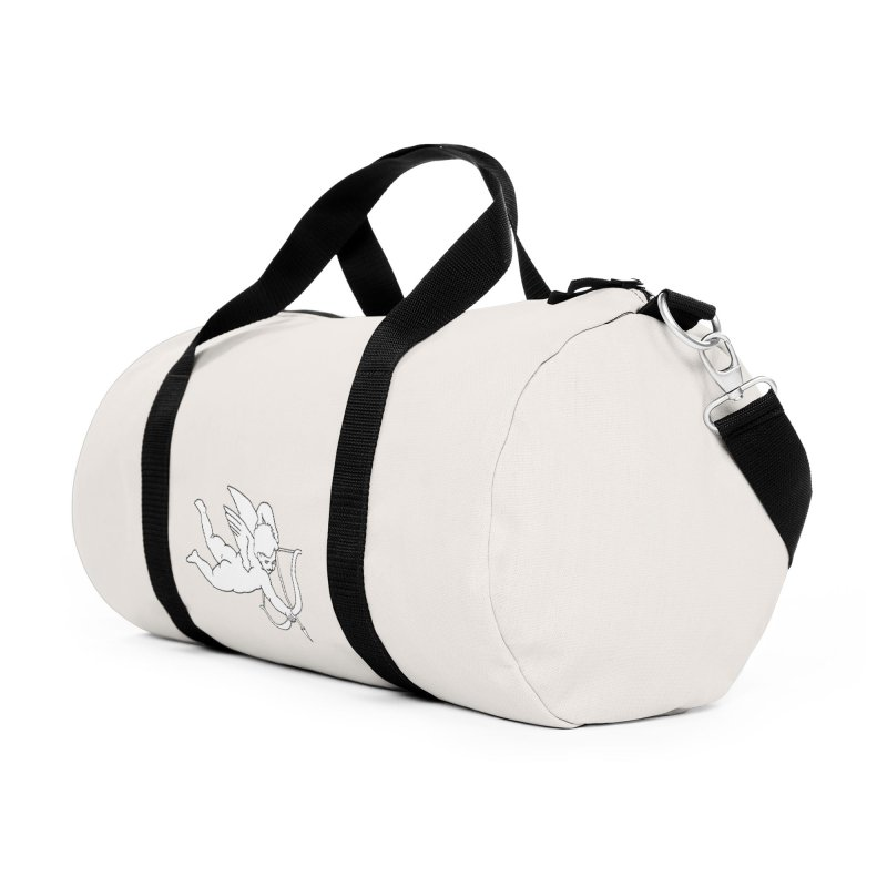 Modern Romance Accessories Duffel Bag Bag by I am a graphic designer