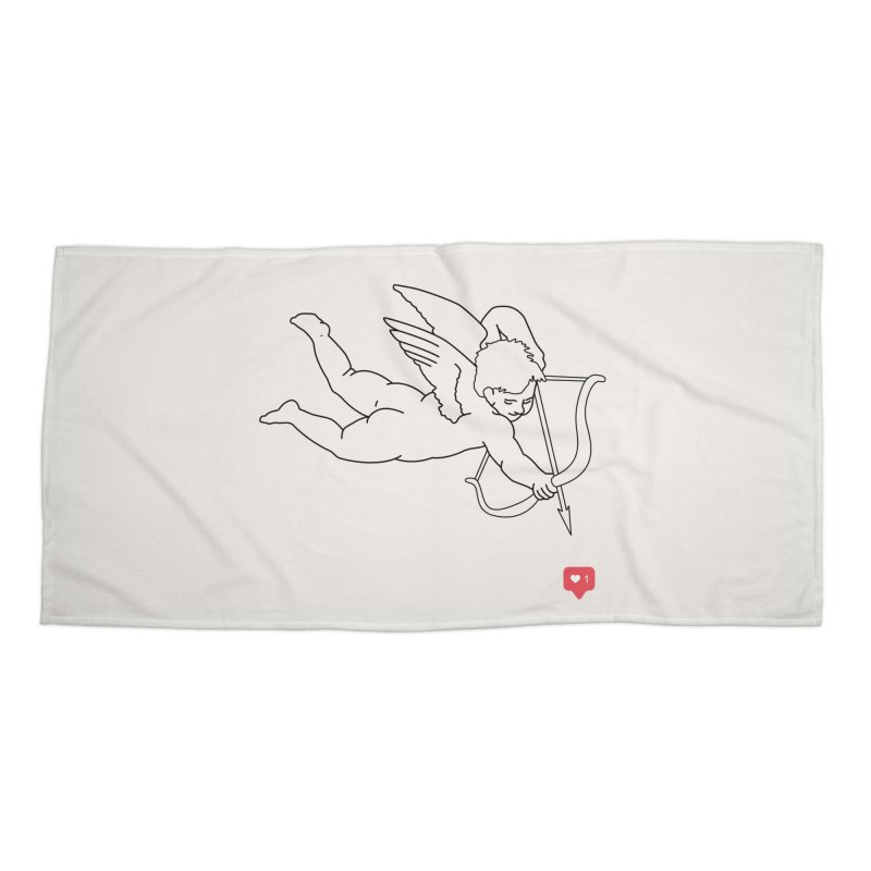 Modern Romance Accessories Beach Towel by I am a graphic designer