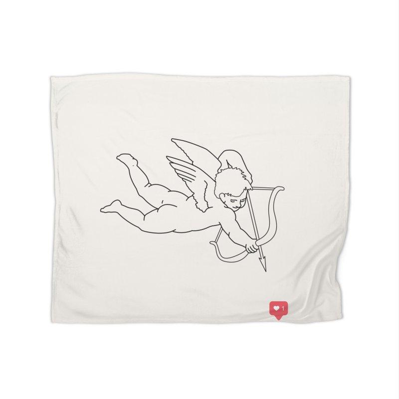 Modern Romance Home Fleece Blanket Blanket by I am a graphic designer
