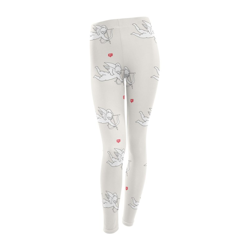 Modern Romance Women's Leggings Bottoms by I am a graphic designer